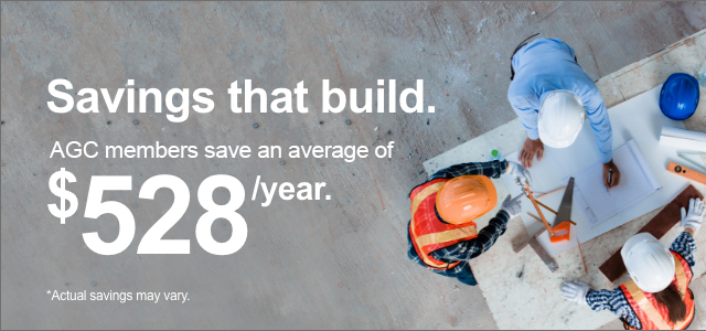 AGC members save an average of $528/year